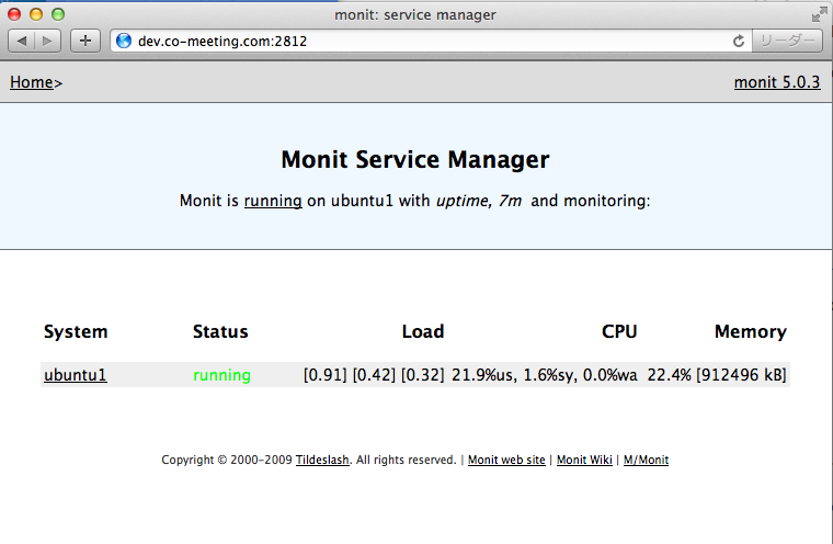 monit-web-interface