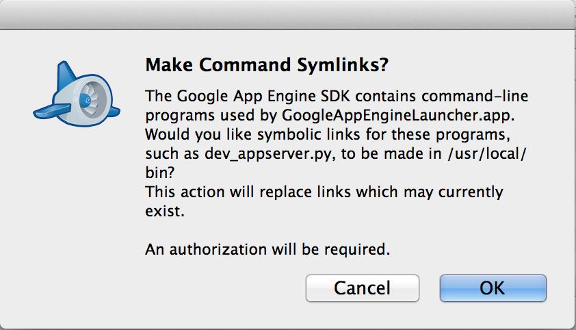 GoogleAppEnginLauncher-install1