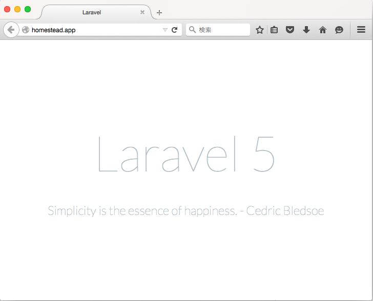 Laravel5IndexPage