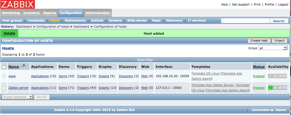 zabbix_configuration_hosts_new_host_added