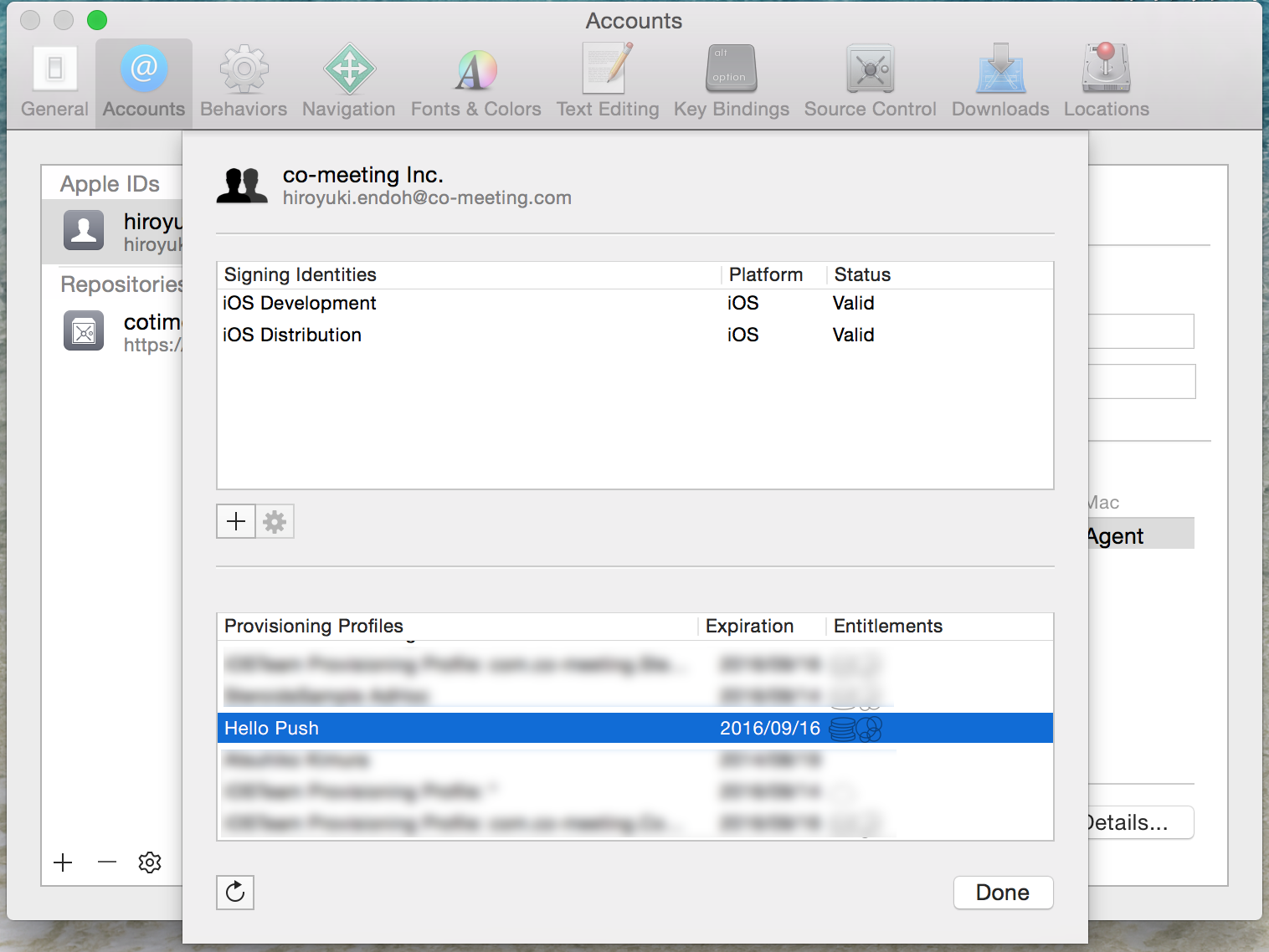 ios_apns_installed_provisioning_profiles_on_xcode