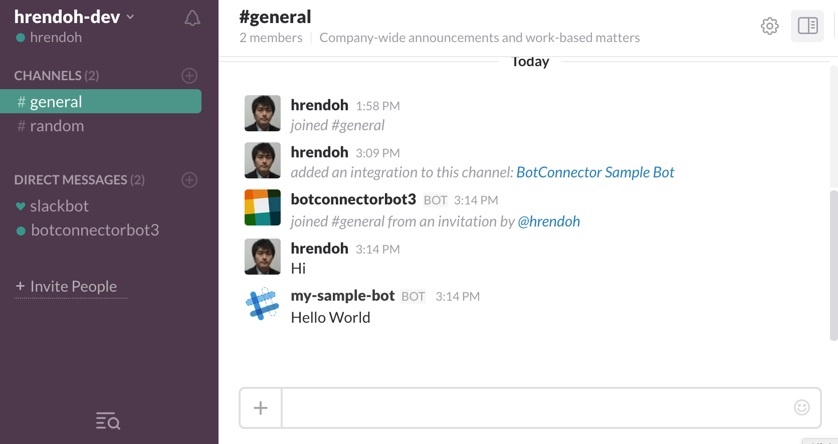 bot-connector-check-behavior-slack-bot